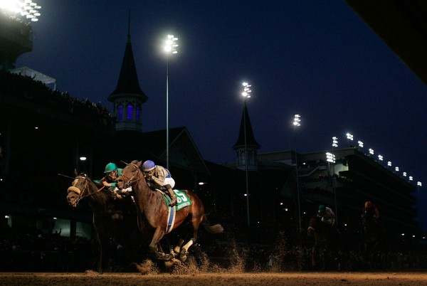 Breeders cup finishline photo