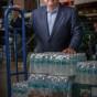 Chicago environmental portrait photographer caputres Miami FLorida businessman for testimonial advertising by John Gress
