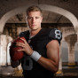 Oakland Raiders Quarterback Connor Cook poses for a portrait by Chicago photographer John Gress
