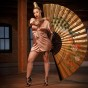 Kat tat girl Katrina Jackson from black ink crew chicago by photographer John gress