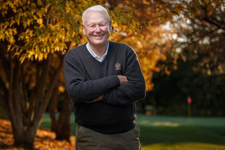 Madison Portrait Photographer: Dr. David U. Cookson's service to the game of golf includes sitting on USGA committees for nearly 30 years and serving as a Rules official for 25 U.S. Opens.