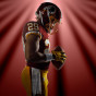 Football player portrait of Derrius Guice by Chicago Sports photographerJohn Gress