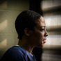 Chicago environmental portrait photographer captures cook county jail inmate by John Gress