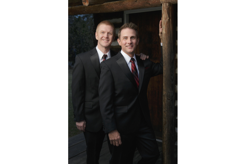Chicago Suburbs gay wedding photography portrait