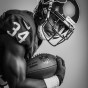 Portrait of houston texans tyler ervin by Chicago photographer John Gress