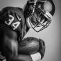 Portrait of houston texans tyler ervin by Chicago photographer John Gress