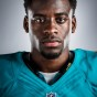 Headshot of Miami Dolphins rookier Devante Parker by LA photographer John Gress