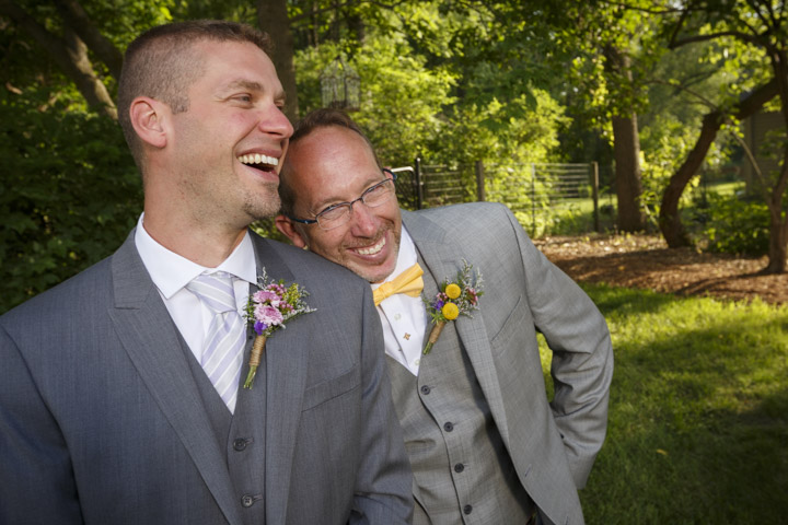 Chicago same-sex wedding photographer - Gay & Lesbian Wedding Photographer John Gress ceremonies parties celebration receptions photography in Illinois