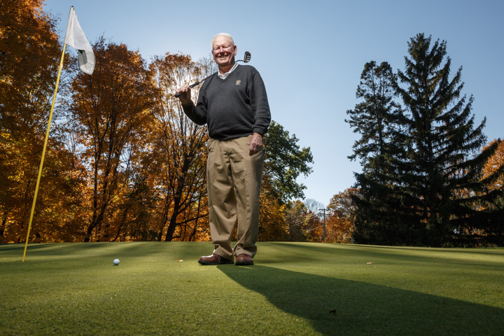Madison Portrait Photographer: Photography, editorial, commerical, annual report,business  Dr. David Cookson as seen at Maple Bluff Country Club in Madison, Wis. on Wednesday, Oct. 22, 2014.  (Copyright USGA/John Gress)