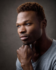 Black Chicago Model headshot photography