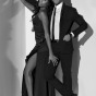 Chicago fashion photographer captures african american high fashion models