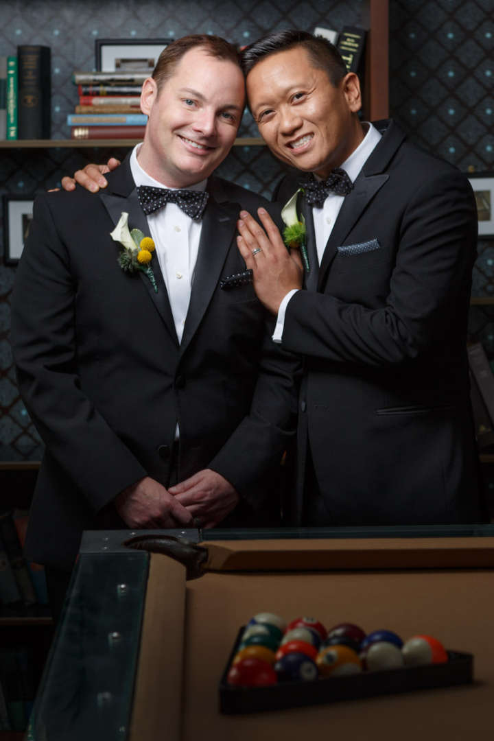 Illinois gay wedding photography