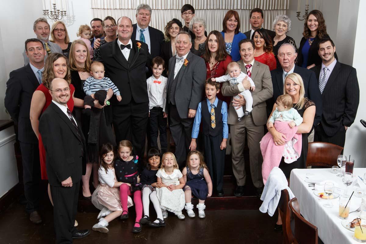 Illinois Gay Wedding Photographer group photo in Chicago