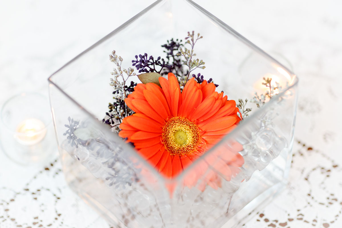 Flowers by Illinois Gay Wedding Photographer
