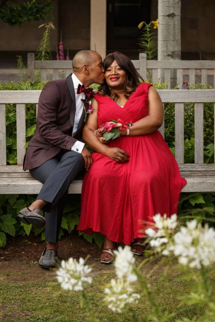 African American Gay wedding portrait Evanston Wedding Photography mother son