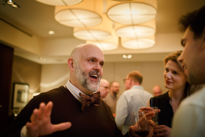 Chicago gay wedding photographer captures new years eve reception at the Park Hyatt