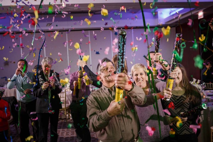 Chicago LGBT wedding photographer captures new years eve ceremony at the Park Hyatt
