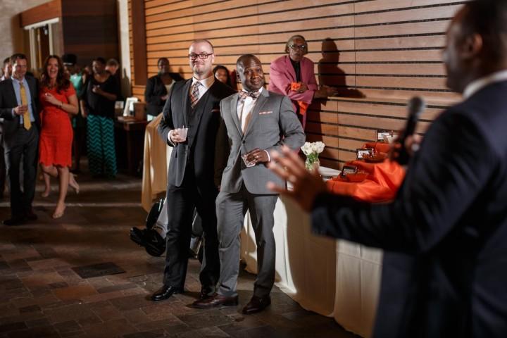 Chicago gay wedding photographer toasts photography