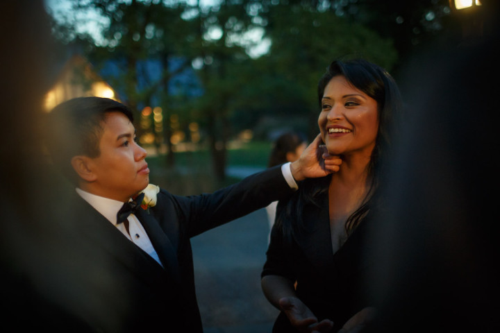 Chicago Suburbs Lesbian Wedding Photographer captures brides after their wedding