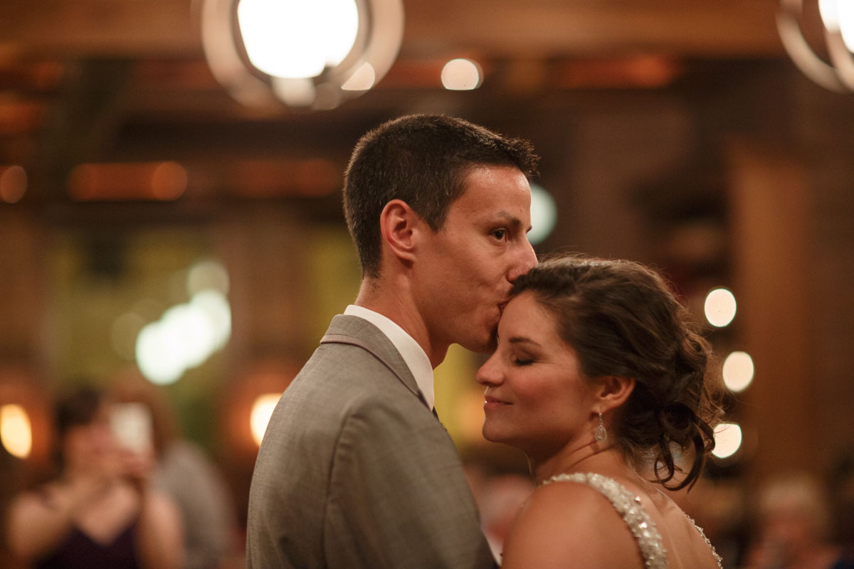 Chicago wedding photography athe Revolution Brewery on Milwaukee by photographer John Gress