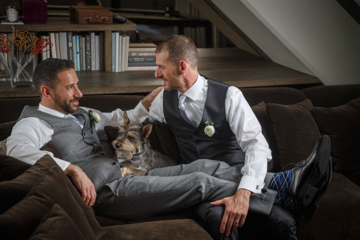 Chicago Gay Wedding Photojournalist portrait photography