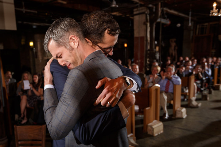 Salvage One gay wedding photographer Chicago Gay Wedding Photography