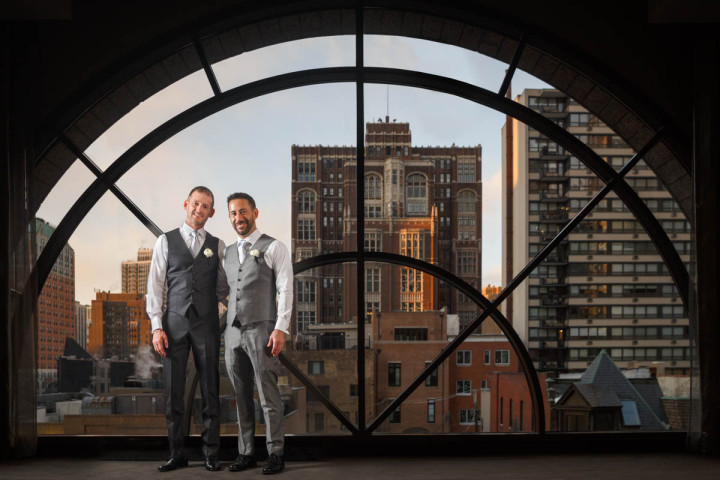 Chicago Gay Wedding Photojournalist engagement photo