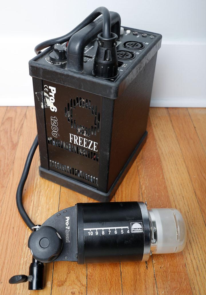 Profoto 6 1200 Freeze with Pro7 head