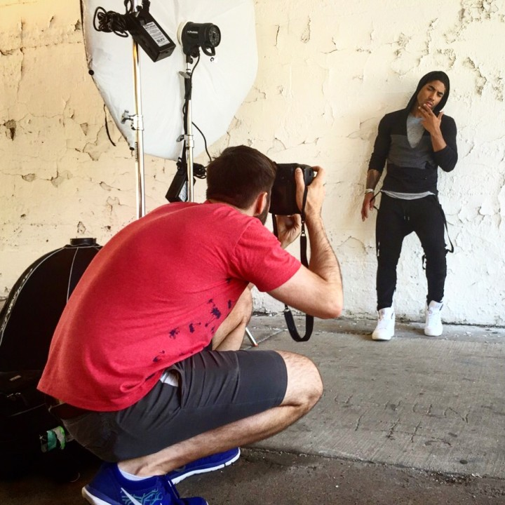 Fitness Model Photography behind the scenes with Tristin Johnson and photographer John Gress