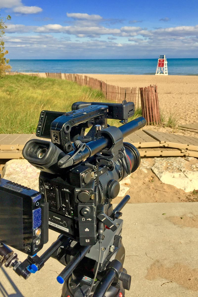 Shooting test footage with my new Canon C200 and comparing it to the C100