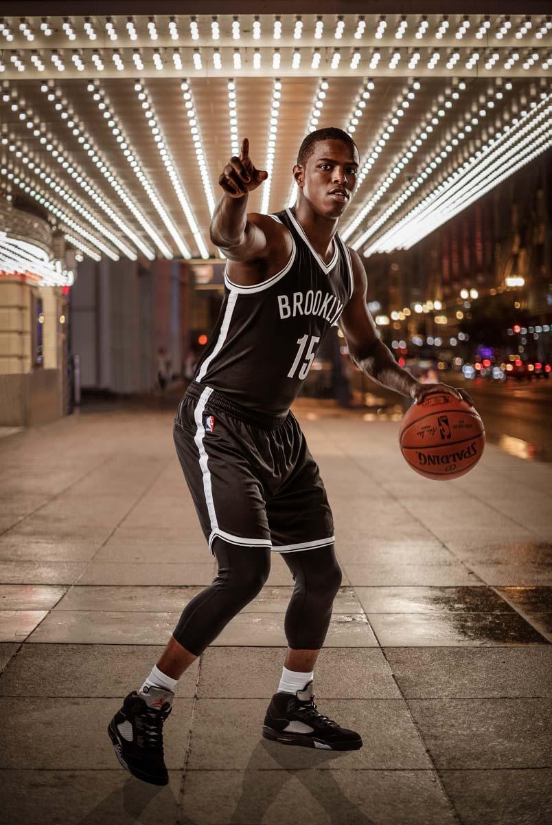 basketball portraits at panini u0026 39 s nba rookie photoshoot