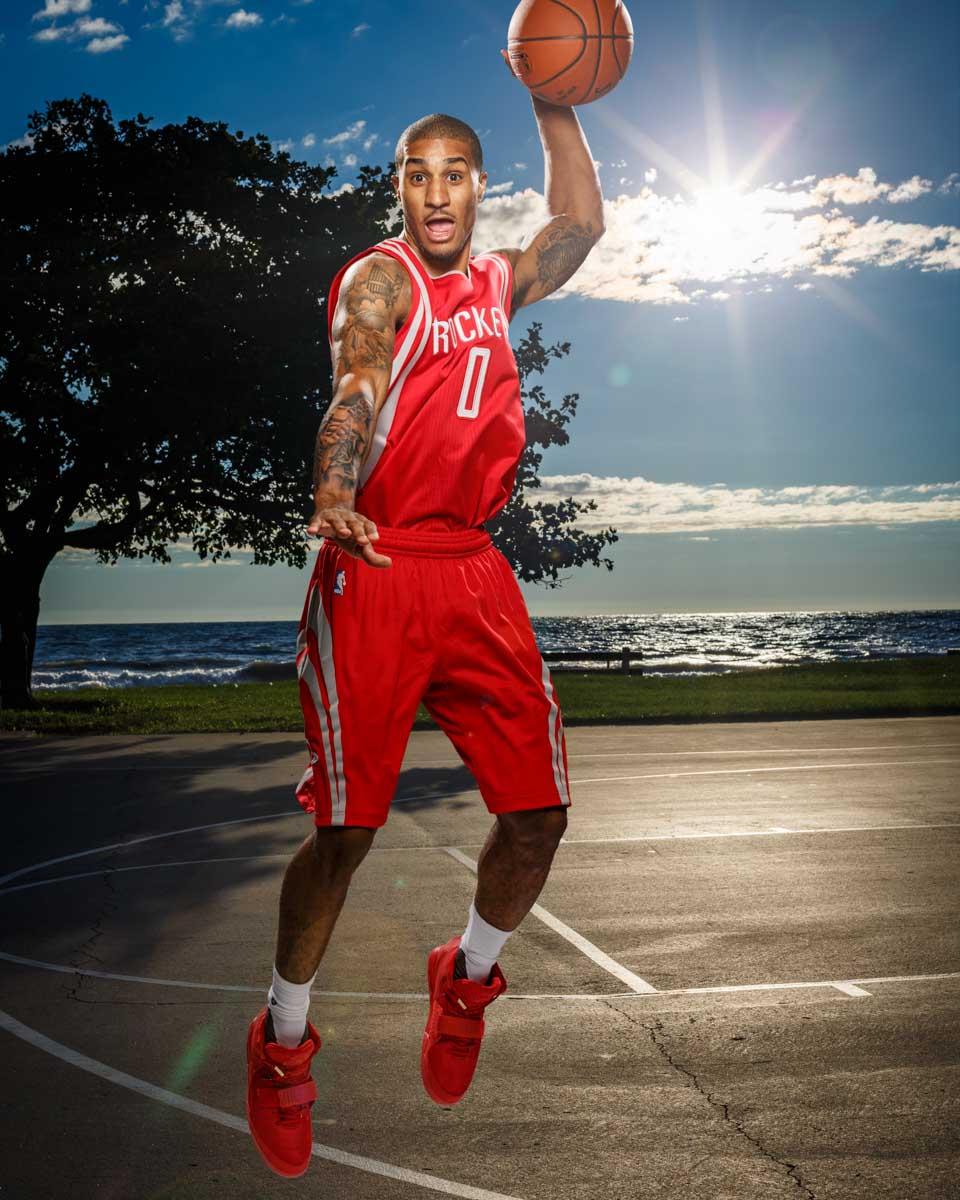 Basketball Portraits At Panini's NBA Rookie Photoshoot