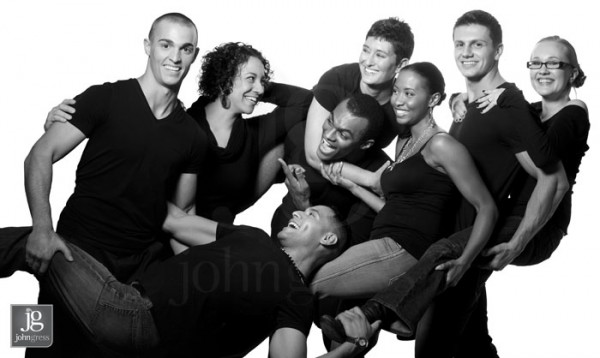 Chicago charity advertising photography or diverse group of models