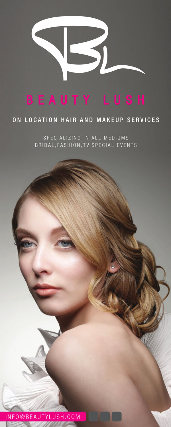 Chicago Beauty Photographer magazine tearsheet