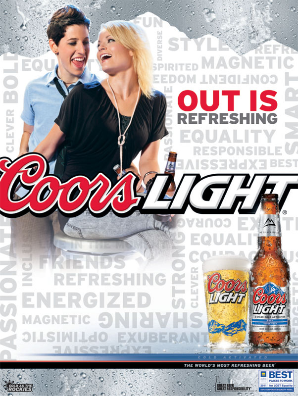 Chicago nightlife advertising Photographer LGBT beer ads