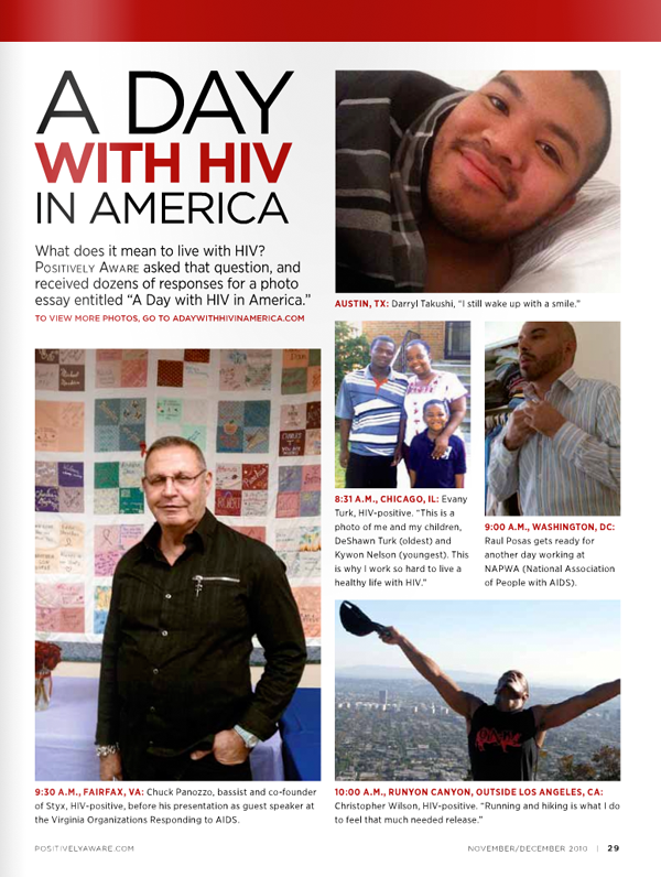 Stop The Stigma A Day With HIV In America By John Gress