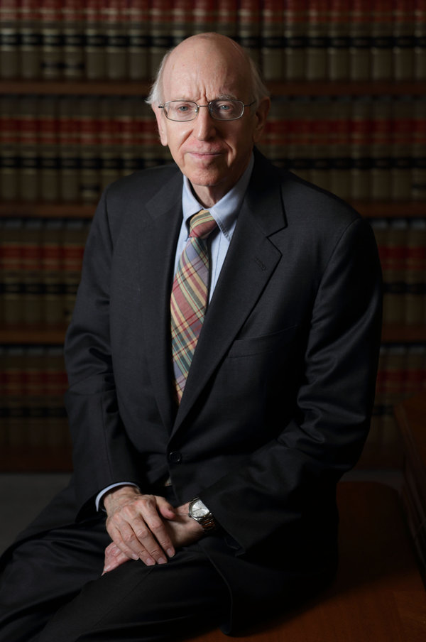 Federal Judge Richard Posner poses in his Chambers in Chicago, July 2, 2012. REUTERS/John Gress