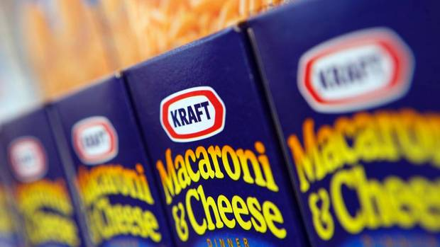 Shares in Kraft Foods Inc. soared nearly 30 per cent on Wednesday after a trading glitch on Nasdaq. (JOHN GRESS/REUTERS)
