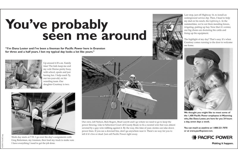 Chicago Advertorial Photographer tearsheet