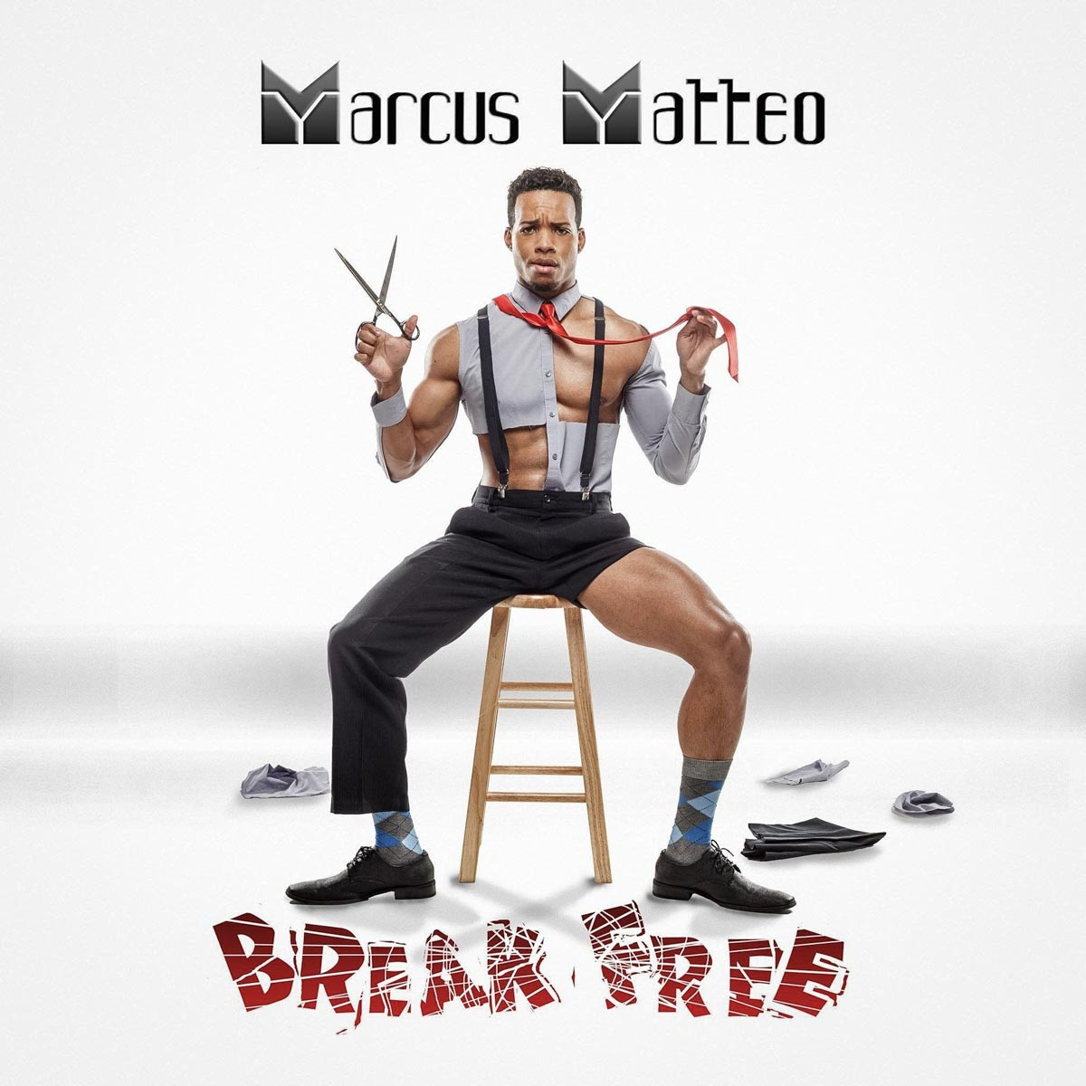 Album cover for singer Marcus Matteo by Chicago Portrait Photographer John Gress