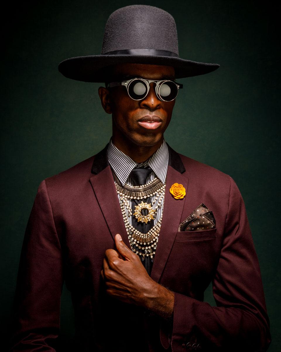 Chicago headshot photographer mens fashion
