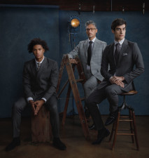 Chicago mens fashion models in suits