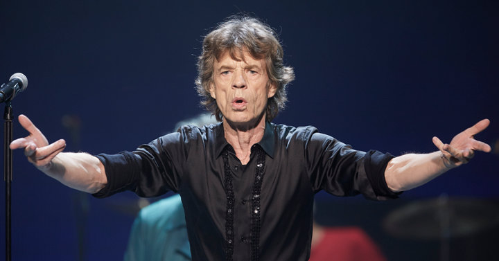 "Mick Jagger of the Rolling Stones performs at a concert during the band's ""50 and Counting"" tour in Chicago May 28, 2013.REUTERS/John Gress"