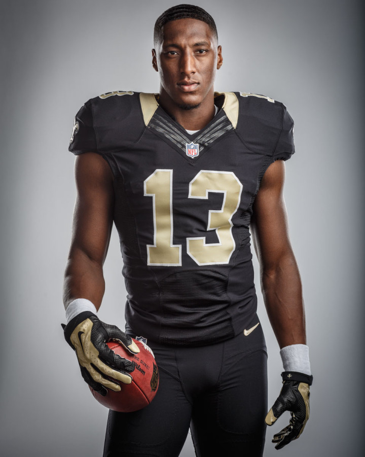 New Orleans Saints draft pick Michael Thomas by Chicago sports photographer John Gress