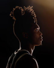 Chicago headshot photographer San Antonio Spurs basketball player