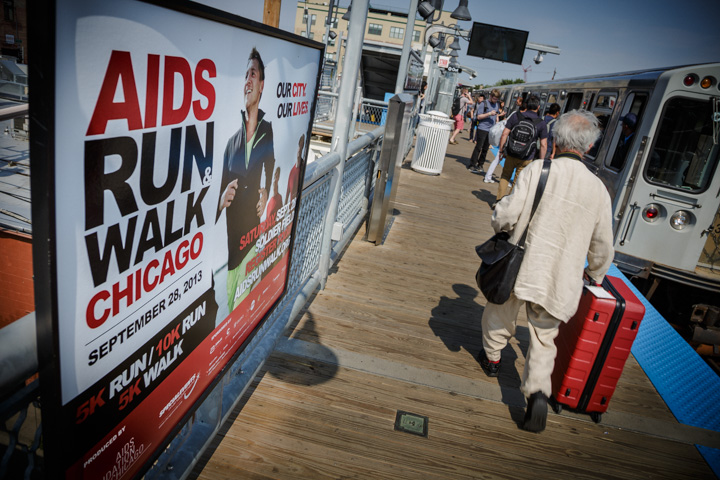 Chicago sports advertising Photography charity campaign