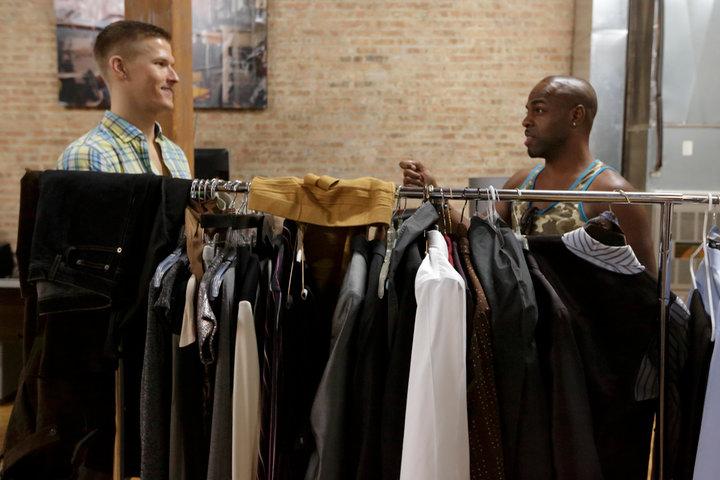 behind the scenes wardrobe