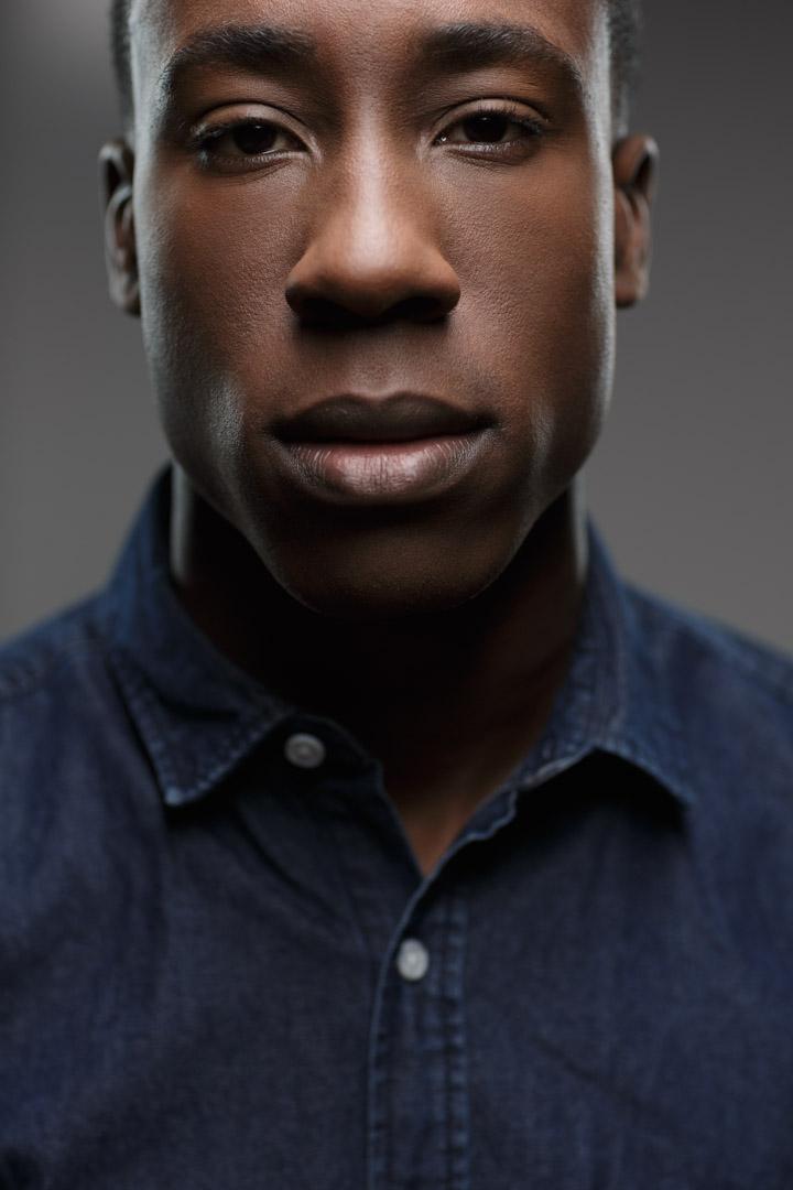 Chicago Fitness Photographer Model headshot