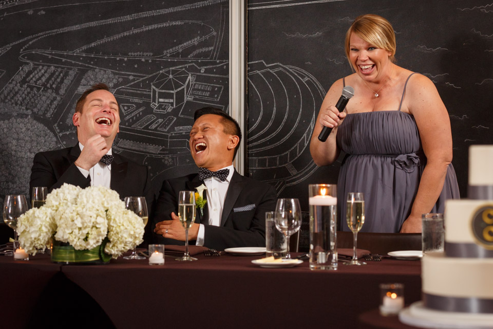 Chicago LGBT Wedding Photography toast