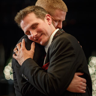 Chicago Gay Wedding Photographer Testimonials first dance photo